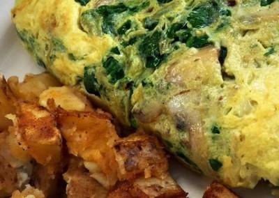 spinach-omlette